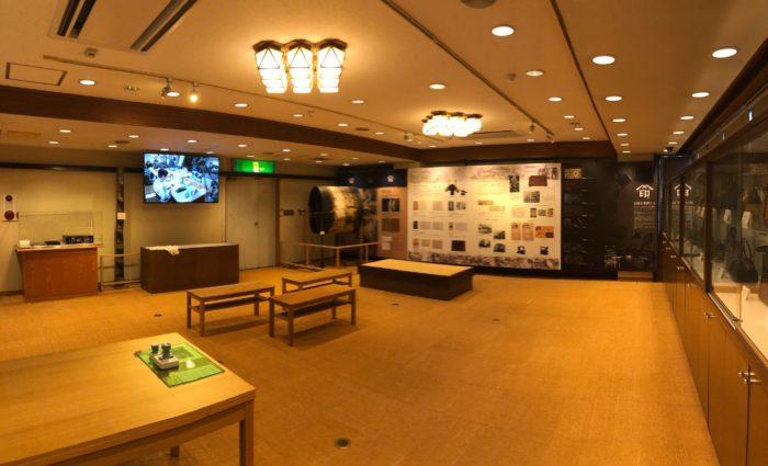 印傳博物館様展示ゾーン
